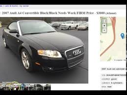 craigslist audi how to find cars on craigslist to flip for profit