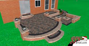 paver brick patio design u0026 installation macomb mi 48044