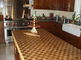 patterned end grain wood countertops brooks custom end grain maple and walnut butcher block wood countertop