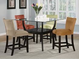 counter high dining room sets counter height gl dining table wade logan gian counter height