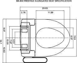 How To Install A Bidet Bb 800 Prestige Bidet Heated Seat Bio Bidet