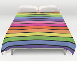 colorful bedding etsy