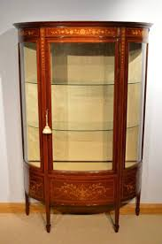 Edwardian Bedroom Furniture by Fine Mahogany Inlaid Edwardian Period Display Cabinet At 1stdibs