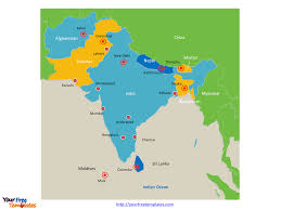 Map If Asia by Map Of Asia With South Asia Map Capitals Thefoodtourist