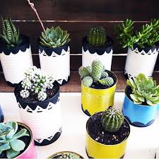 How To Decorate A Tin Best 25 Painted Tin Cans Ideas On Pinterest Coffee Cans Coffee