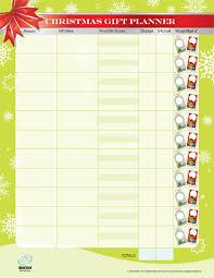 christmas gift list christmas gift list and budget tracker 24 7