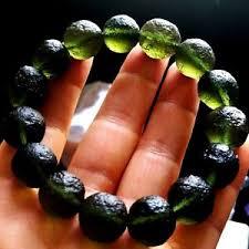 beaded bracelet ebay images Moldavite bracelet ebay JPG