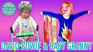 Ziggy Stardust Halloween Costume Diy Baby David Bowie U0026 Granny Halloween Costumes Hgtv Handmade