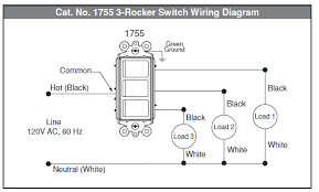 electrical how to wire multi control rocker switch home