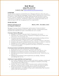 Sample Resume Objectives For Manufacturing by Resume Samples For Customer Service Manager Free Resume Example