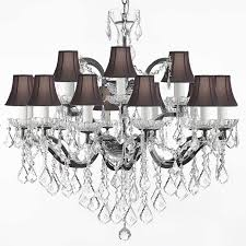 Mini Chandelier Lamp Shades Crystal Chandelier With Shades Free Full Size Of Wg Exceptional