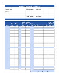 40 free timesheet time card templates template lab opening hours
