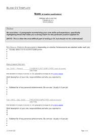 Student Resume Samples For College Applications by Resume Example Blank Cv Template Download Free Student South