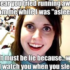 Funny Stalker Memes - creepy stalker girlfriend by panda chan meme center
