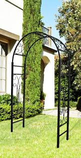 metal garden arches and trellises home outdoor decoration