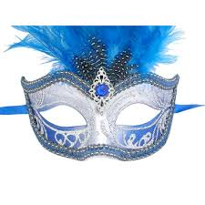 venetian mask venetian mask in london for blue and silver sisi feathered