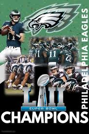 philadelphia eagles chion poster template postermywall
