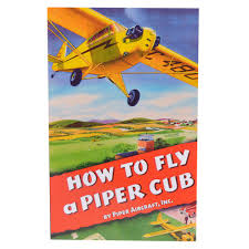 how to fly a piper cub book