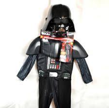 Halloween Costume Darth Vader Disney Star Wars Darth Vader Child Costume Small 3 4 Ebay