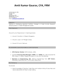 Resume Example Singapore by Excellent Buy Side Analyst Resume 19 On Resume Examples With Buy