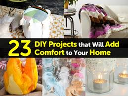 23 diy projects that will add comfort to your home