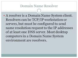 Domain Naming System Dns Tech by Domain Name System The Technology Context Presentation Ppt Download