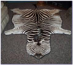 Calf Skin Rug Zebra Hide Rug Ebay Roselawnlutheran