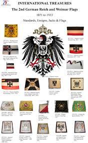 German War Flag Zfc 2nd German Reich Standards Ensigns Jacks Flags