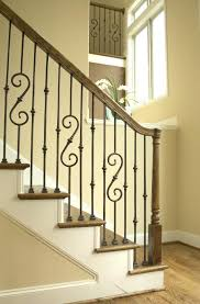 Metal Banister Rail Wrought Iron Stair Rail U2013 Brandonemrich Com