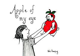 bah humpug apple of my eye