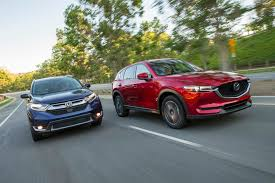 mazda a 2017 honda cr v vs 2017 mazda cx 5 comparison