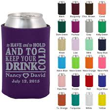 personalized wedding koozies wedding favor koozies clipart 1784 to and to hold koozie