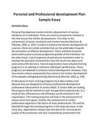 personal development portfolio example 69 personal plan examples
