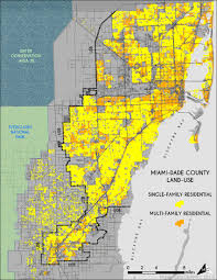 University Of Miami Map by Public Health Study Proximity To Sprawl Affects Walkability