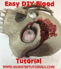 blood 1 u2013 easy blood recipes using glue and other household items