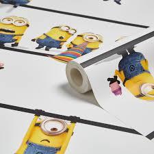 minions wallpaper departments diy at b u0026q