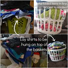 how to do laundry for a large family in only 3 days
