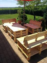 outdoor patio furniture made from pallets garden pallet furniture