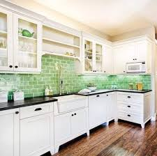 Subway Tile Ideas Kitchen Wow What A Surprise This Pistachio Tiling Makes Throughout This