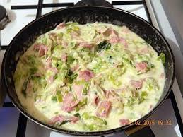 poireaux cuisiner recette de poêlée de poireaux et jambon