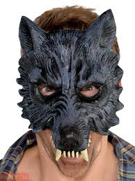 wolf mask fancy dress wolf mask gloves mens