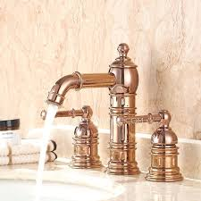 gold bathroom sink faucets gold finish brass body led bathroom