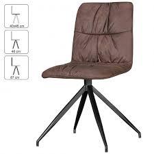 Esszimmerstuhl Drehbar Wohnling 2er Set Design Esszimmerstühle Herry Im Retro Design