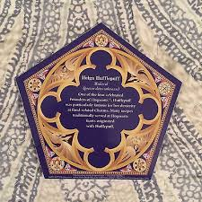 where to buy chocolate frogs image helga hufflepuff chocolate frog card wwhp jpg harry