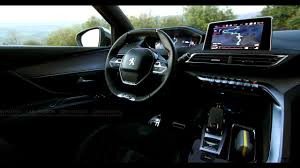 peugeot 3008 interior new peugeot 3008 icockpit futuristic interior youtube