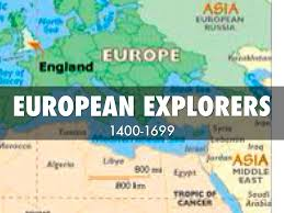 European Exploration Map European Explorers By Cheyenne Bonner