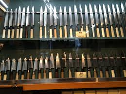best japanese kitchen knives in the asakusa s kappabashi three shops for the best japanese kitchen
