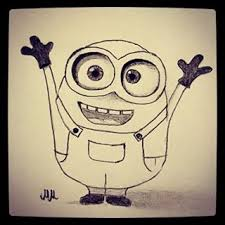 hello minions sketch sketching draw drawing drawings