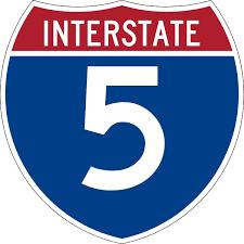 Interstate 5 in Washington