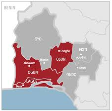 Map Of Nigerian States by The Violent Road Nigeria U0027s South West Aoav